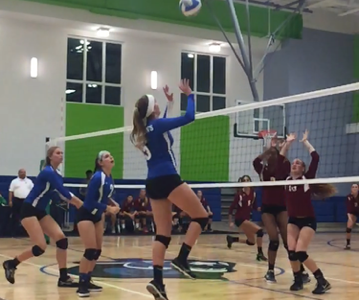 Varsity Girls Volleyball Goes from Defeated to Victorious