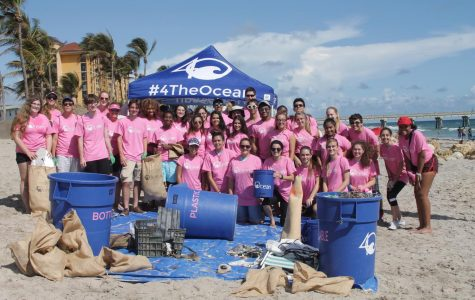 SNHS Partners with 4Ocean for Beach Clean-Up