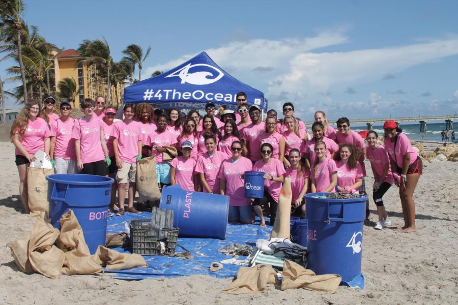 SNHS Partners With Ocean For Beach CleanUp Somerset Sentinel - 4ocean