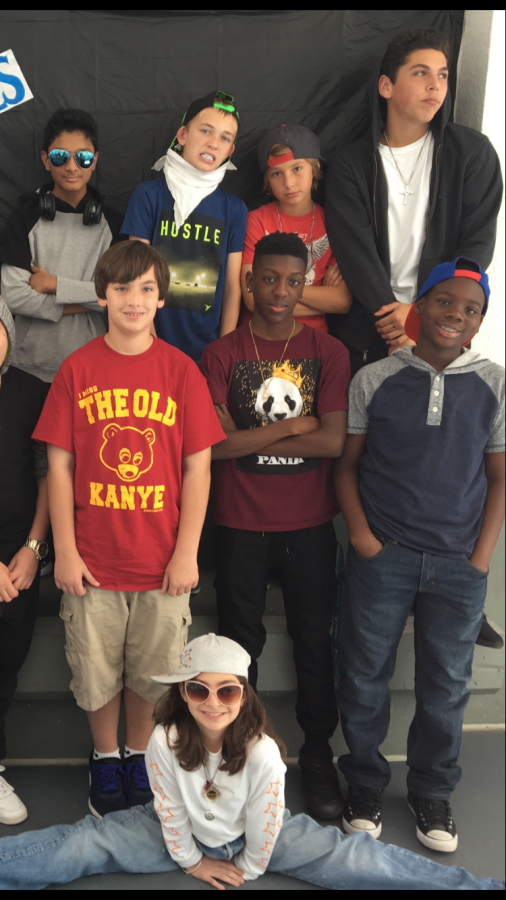 The Middle School Journalism Class Rapped up the Music Spirit Week.
