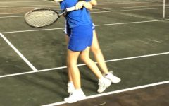 Lady Cougars Take Tennis Victory!