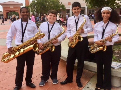 Middle School Musicians Score High Marks