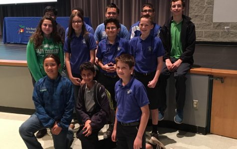 Experiences Add Up for Middle School Math Team