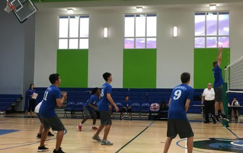 Boys Varsity Volleyball Fought Hard Against Forest Hill