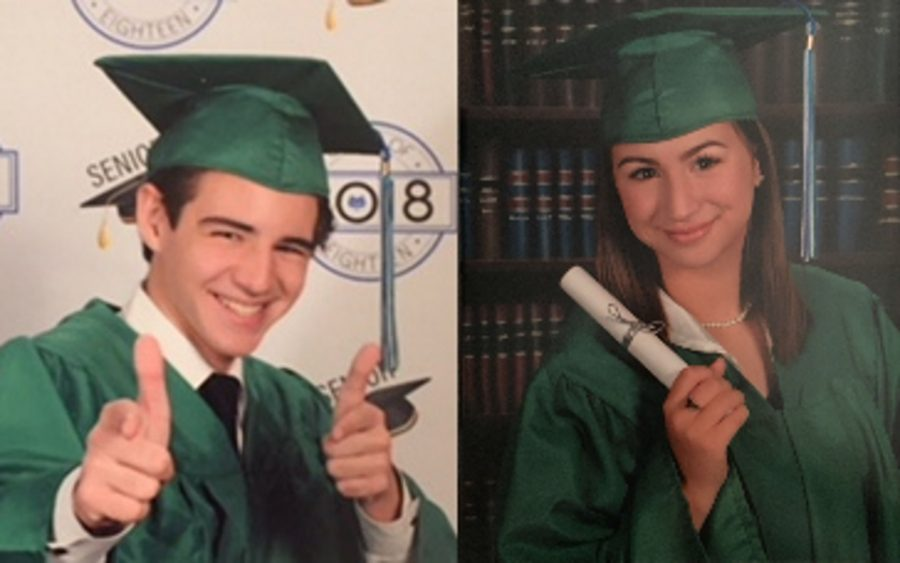 Two Seniors with the Secret to Success