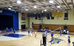 Canyons Cougars Take on CN Crusaders in Girls Varsity Volleyball