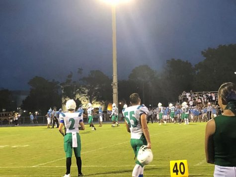 Middle School Boys Flag Football Battles Okeeheelee Middle