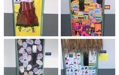 Spanish Classes Celebrate Hispanic Heritage Month
