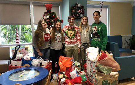 NHS Delivers Holiday Cheer to Children's Hospital
