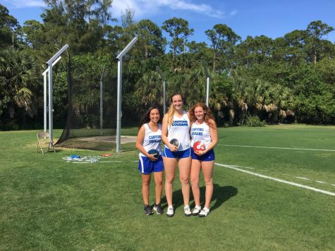 Behind the Scenes Pictures: Cara Salsberry Chosen for Sun Sentinel First Team