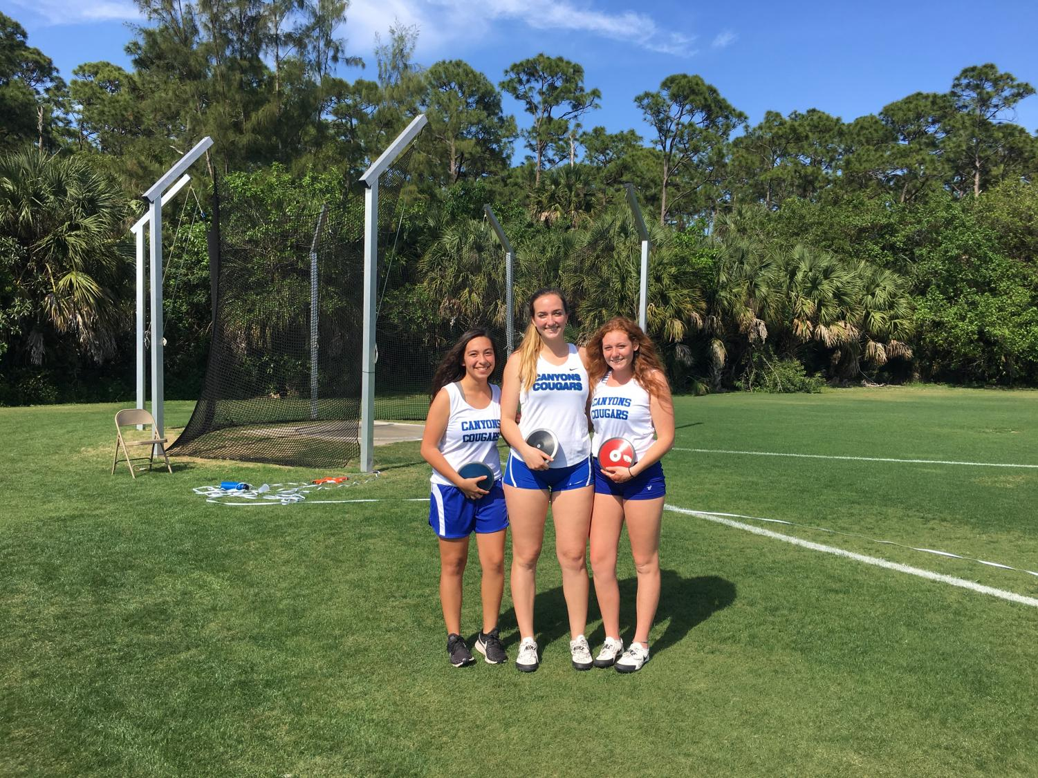 (From left to right) Ashley Villa Real, Cara Salsberry, and Kassidy Rubin.