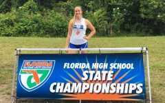 Cara Salsberry Captures Bronze in Discus at State Championships