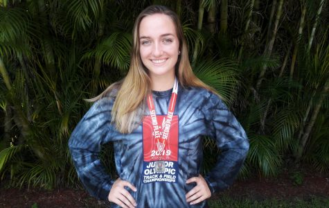 Cara Salsberry Takes Second in Discus at USATF Junior Olympic Regional Track and Field Championships