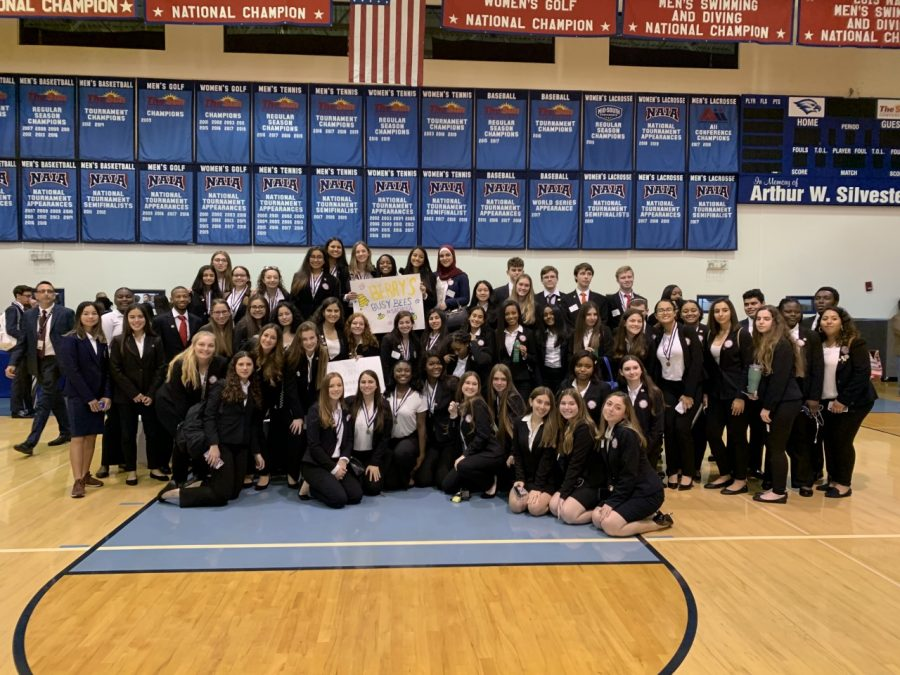 Students+celebrate+their+victory+at+HOSA+Regionals%21