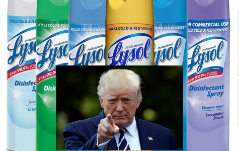 What does Trump and Lysol have in common?