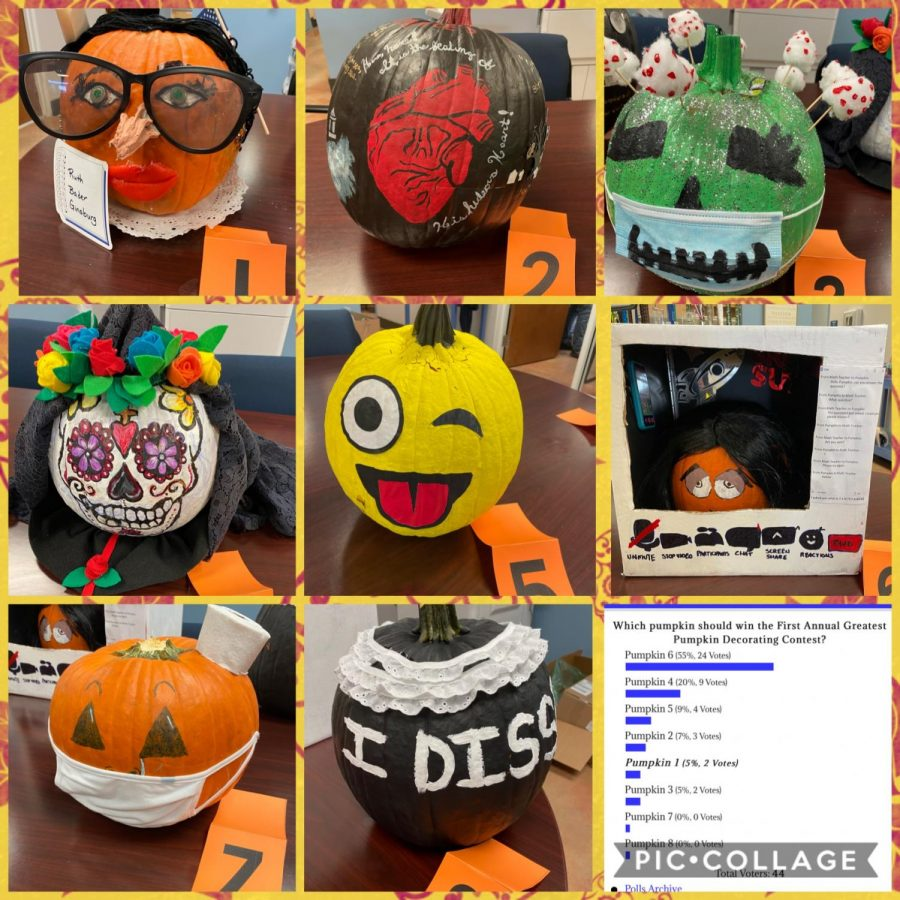 The Greatest Pumpkin Decorating Contest