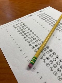 Whether multiple choice or short answer, students are feeling the pressure of performing well on exams.