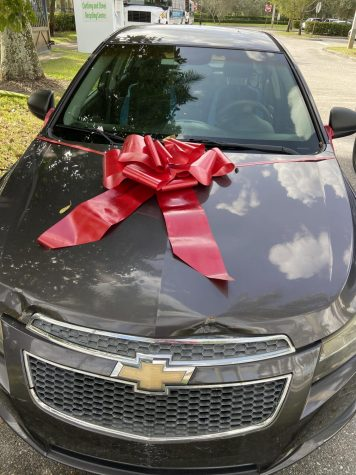 Driving Together Towards Compassion: Somerset Teacher Gifts Student Car