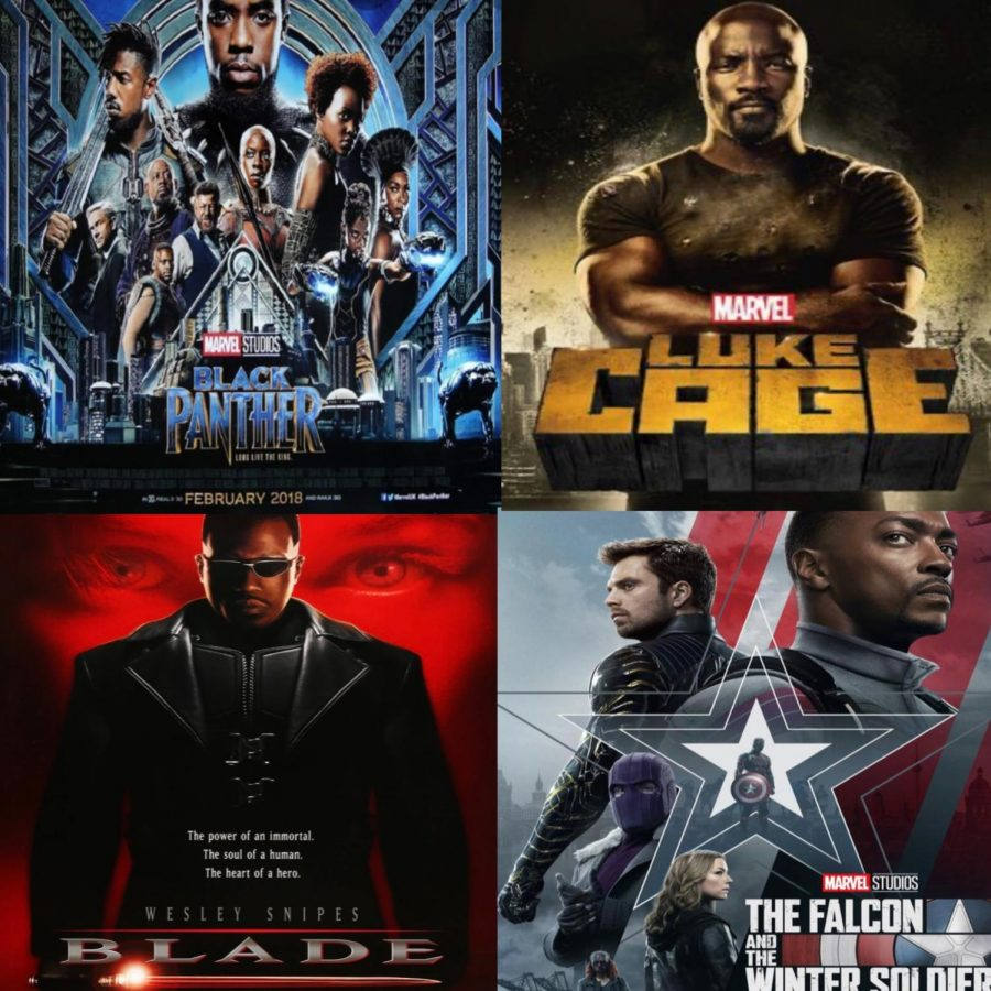 Black superheroes have shown the world that courage comes in all races and ethnicities.