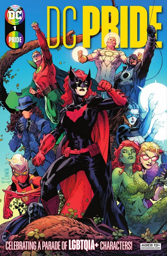 The Cover for DC Pride #1, published by DC Comics, image courtesy of https://mobile.twitter.com/thedcnation/status/1402665405961805825